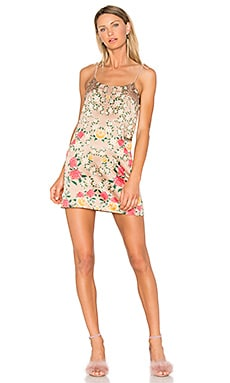 Frieda Mini Dress in Sandy Rose Floral