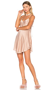 x REVOLVE Foley Dress in Taupe