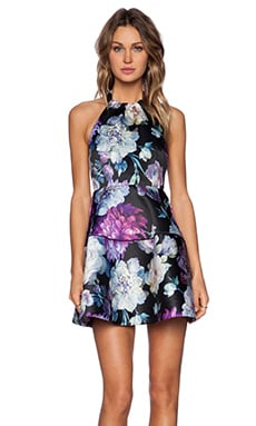 NBD Stay Here Dress in Floral Print