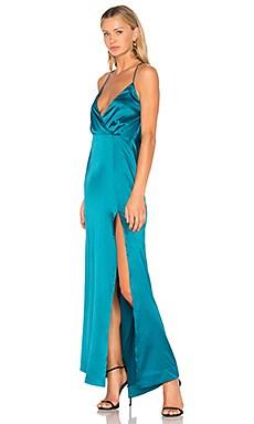 Купить Вечернее платье zane - NBD зеленого цвета