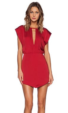 Alluring Dress en Rouge