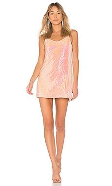 Купить Мини платье tessellate - NBD розового цвета