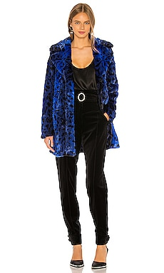 Stellar Faux Fur Coat NBD $49 (FINAL SALE)