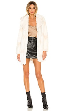 Stellar Faux Fur Coat NBD $57 (FINAL SALE)