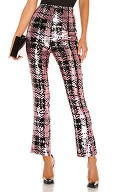 Укороченные брюки saskia - NBD Стейтмент-брюки фото
