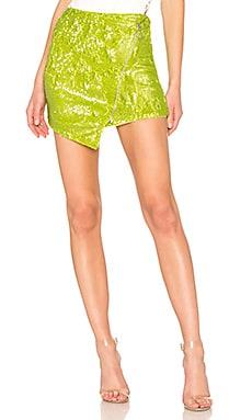Мини юбка с блестками apple martini - NBD