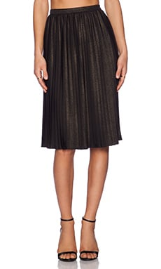 NBD x Naven Twins Platinum Skirt in Black