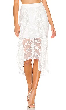 Mollie Midi Skirt NBD $45 (FINAL SALE)