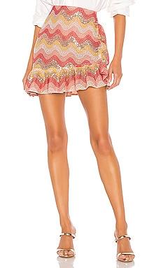 Zinnia Embroidered Mini Skirt NBD $188 BEST SELLER