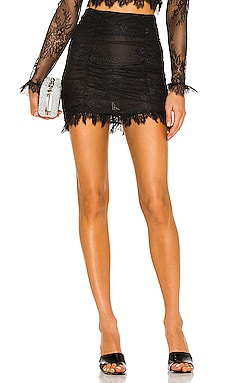 Hanna Lace Mini Skirt NBD $218