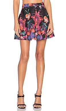 NBD x Naven Twins Chromat Skirt in Tropics Floral