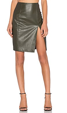 Cassie Skirt in Army Green