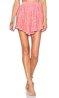NBD Make Me Blush Skirt in Pink Sorbet