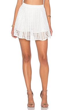 NBD x REVOLVE When I Say Skirt in White