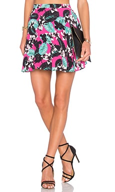 x Naven Twins Hot Tropics Skirt in Pink Tropical Floral