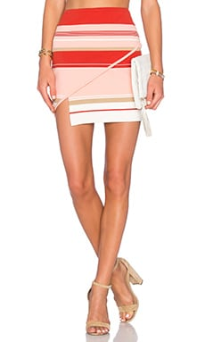 Prevision Skirt en Sunset Stripe