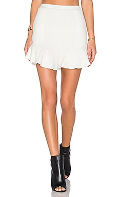 x REVOLVE Headliner Skirt in Ivory