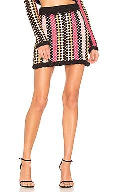x REVOLVE Acacia Skirt in Mauve. - size M (also in L,S)