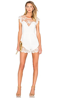 Picnic Day Romper in Ivory