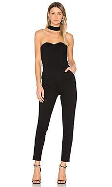 Violet Jumpsuit in Black