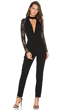x REVOLVE Don't Need Nobody Jumpsuit in Black