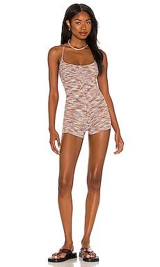 Tropic Knit Romper NBD $168