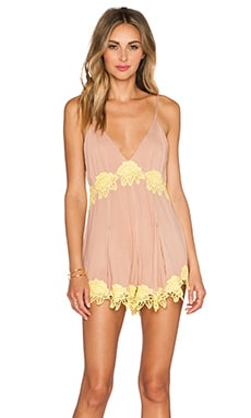 NBD Forever N Ever Romper in Nude