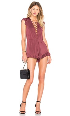 Rhythm Romper in Vermillion