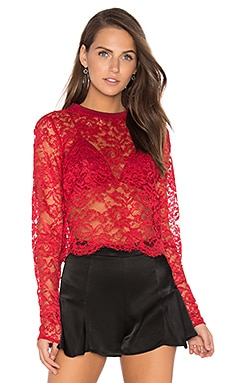 Deborah Top en Rouge