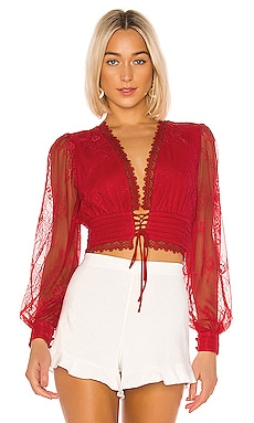 TOP CROPPED À LONGUES MANCHES WINO NBD $198 BEST SELLER