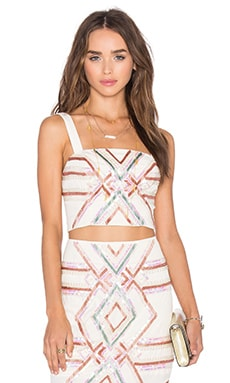 x Naven Twins Hot Tropics Crop Top