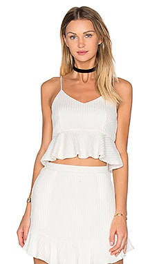x REVOLVE Heat It Up Top in Ivory