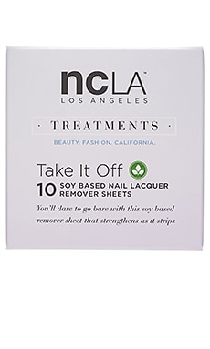 NCLA Take It Off Remover Sheets in All
