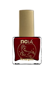 What's Your Sign? Scorpio Lacquer in Dark Burgundy Cream