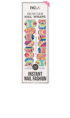 NCLA Festival Season Nail Wraps in To the Beat of her Own Drum