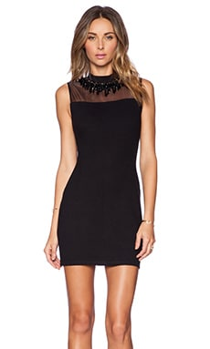 Needle & Thread Jet Dress in Black