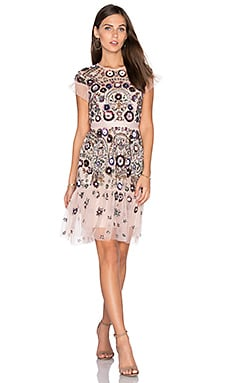Enchanted Lace Dress in Blush