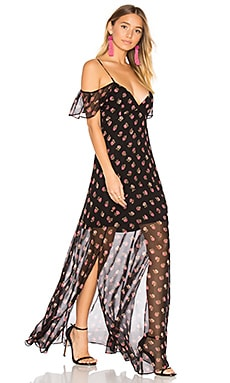 Prairie Ditsy Maxi Dress