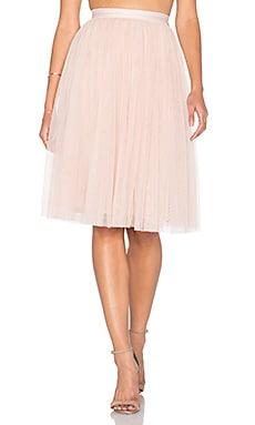 薄纱中长半身裙