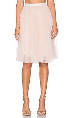 Needle & Thread Tulle Midi in Blush