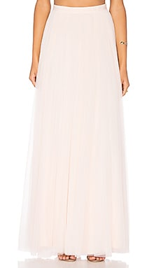 Needle & Thread Tulle Maxi Skirt in Ballet Pink