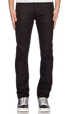 NEUW Sharp Iggy Skinny Jeans in Black Raw