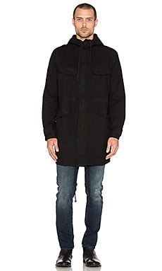 NEUW Enkel Shell Parka in Black