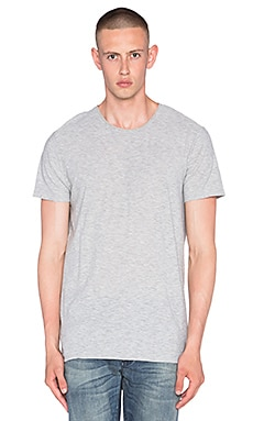 NEUW Enkel Tee in Grey Slub