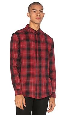 NEUW Enkel Shirt in Red Check