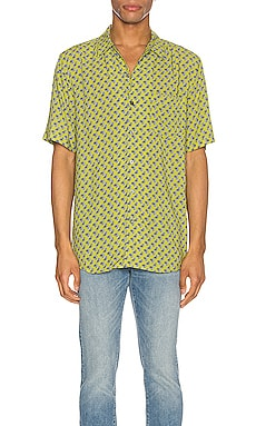 Paisley Short Sleeve Shirt NEUW $45 (FINAL SALE)