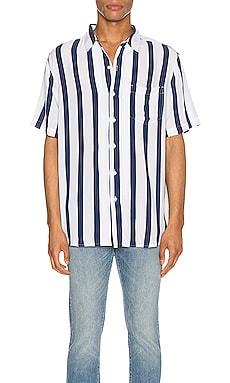 Stripe Short Sleeve Shirt NEUW $63 (FINAL SALE)