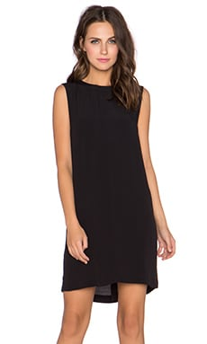 Gloria Sleeveless Dress in Black
