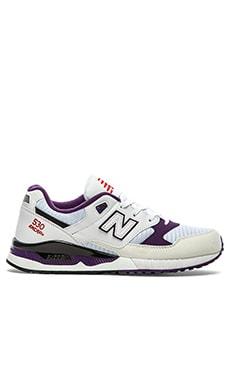 New Balance M530 in White Purple