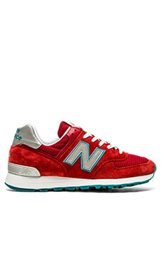 New Balance Made In USA US574 in Red